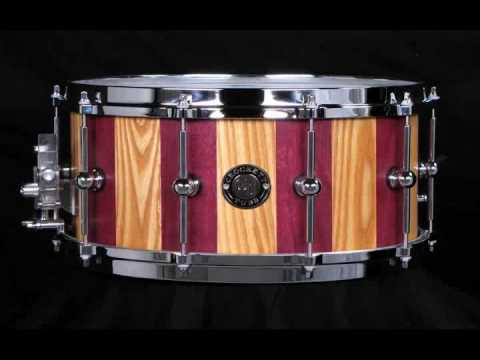 "Crockett Tubs 7x14"" Purpleheart & Ash Stave"