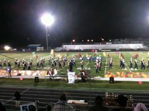 Washington Township HS Marching Band 2010 Show - A Class Challenge @ Sayerville