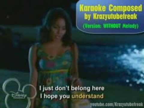 "HSM2 KARAOKE!!! ""Gotta Go My Own Way"" (Without Melody)"