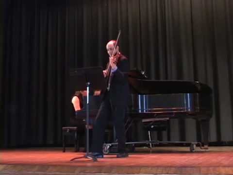 Highland Park Strings Chamber Music Concert 3-28-10_Kreutzer 2nd movt. part 1