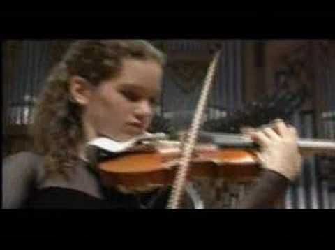 Hilary Hahn - Shostakovich Violin Concerto (part 4)