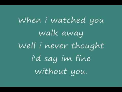 Without You - Hinder Lyrics