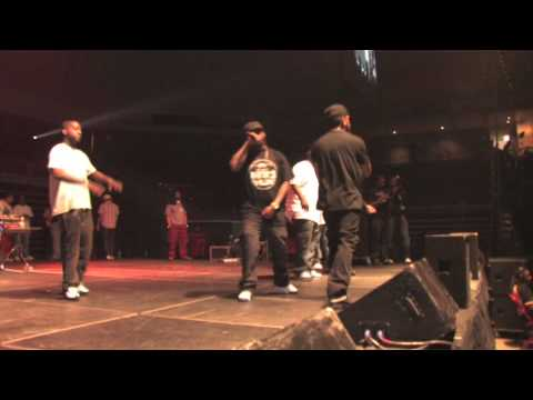 LLOYD BANKS - STUNT 101/ BEAMER, BENZ, BENTLEY @ HIPHOP RELAYS NORTH PHILLY 2010