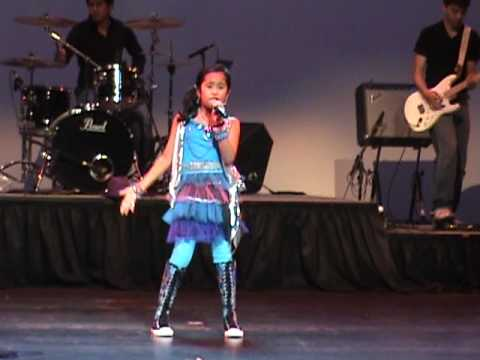 "Kathryn singing ""Here we go again"" and ""Baby"" at PNAMH 2010 Extravaganza"