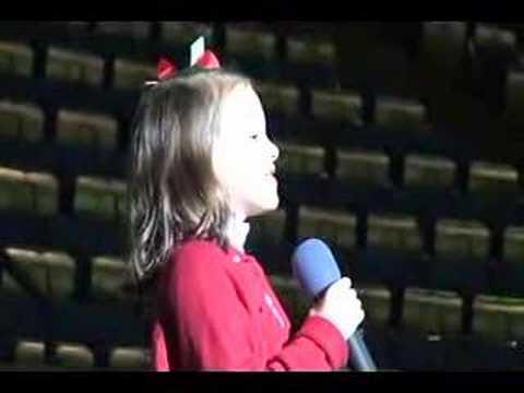 US National Anthem (Star Spangled Banner) by Jaycie