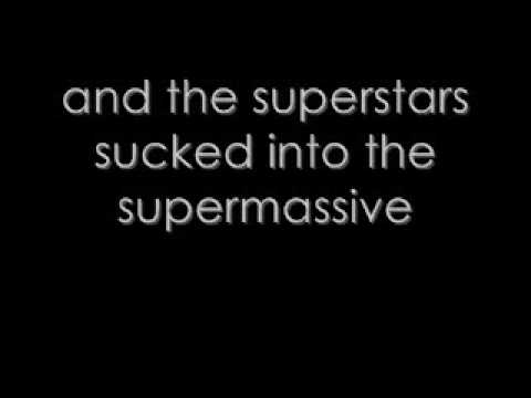 Muse - Supermassive Black Hole - Lyrics