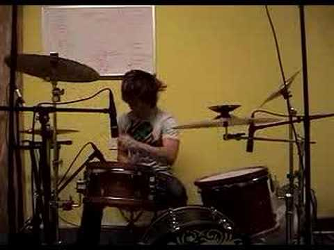 Thrice - Blood Clots And Black Holes *Drums Only* 6.13.07