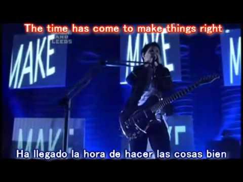Knights of Cydonia - Muse // Subtitulado Ingl�s - Espa�ol