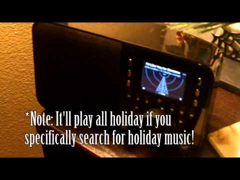 Spreading Holiday Cheer with Music via Logitech Squeezebox