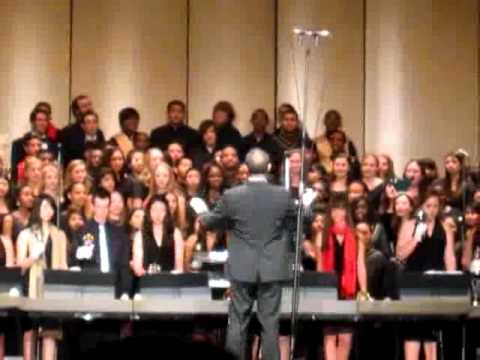 Long Beach Poly Choir Holiday Concert - Peace Peace by Sara Groves