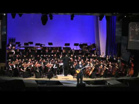 """Honolulu City Lights"" Ben Vegas & Moanalua HS Symphony Orchestra @2009 Gift of Hope Charity Concert"