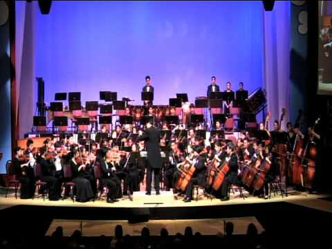 Il Seraglio Overture by Moanalua High School`s 2008 Symphony Orchestra @ The Gift of Hope Charity Concert