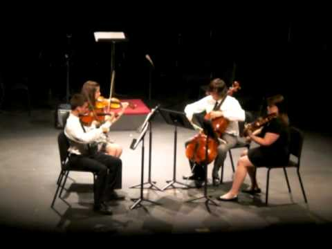 Shostakovich String Quartet No. 1, First Mvmt