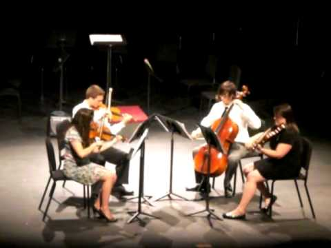 Schubert String Quartet No. 10, First Mvmt