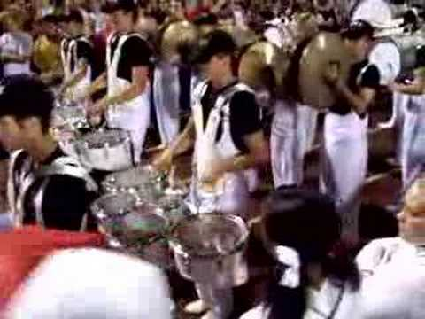 The Fairfield High School Drumline of Ohio