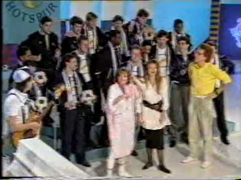 "Chas & Dave with Tottenham Hotspur - ""Hot Shot Tottenham"" live on Blue Peter 1987"