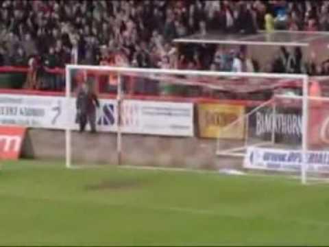 Exeter City 2-1 Huddersfield Town - Ryan Harley Winner!