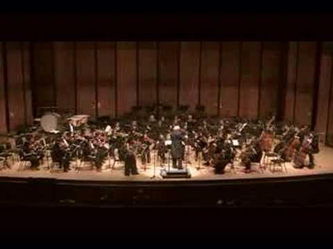 Kyung Sun plays Brouwer violin concerto III.Gypsy