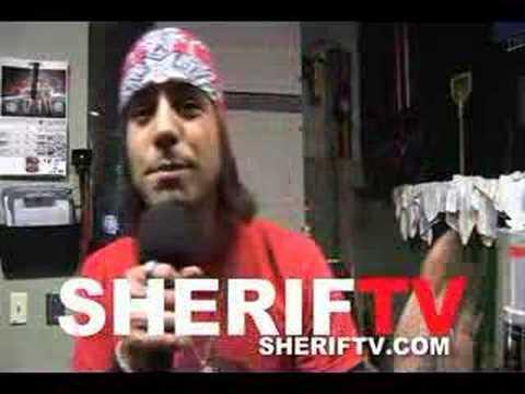 HUGO FERREIRA (TANTRIC) - SHERIFTV CELEBRITY PROMO
