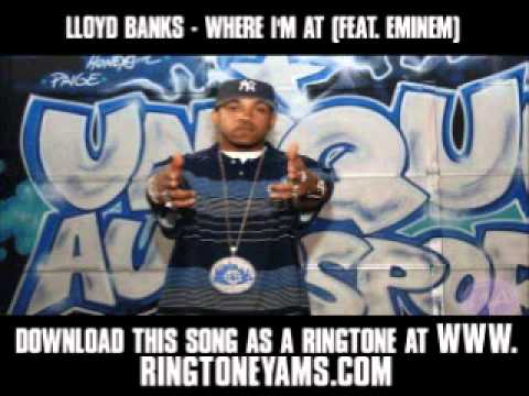 Lloyd Banks - Where I`m At (Feat. Eminem) [ New Video + Lyrics + Download ]
