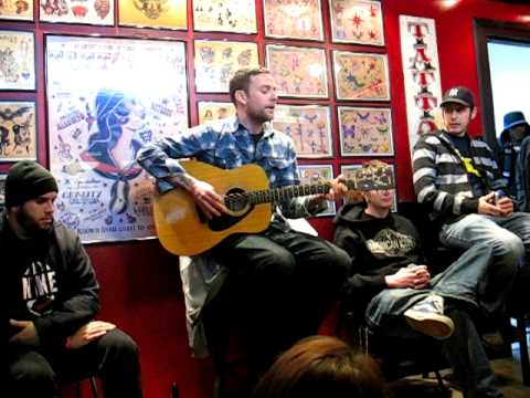 Vinnie Caruana acoustic at Planet New York Tattoo Poughkeepsie New York