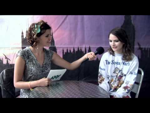 Backstage interview with I Blame Coco [Coco Sumner] at the Wireless Fest 2010