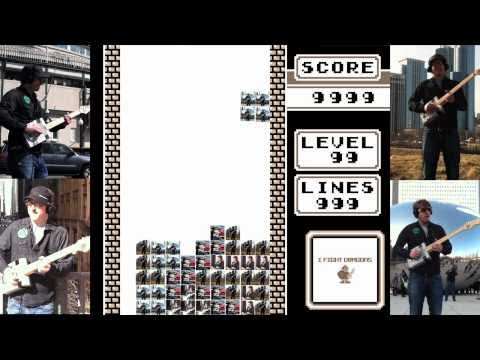Packy Plays Tetris - with a Nintendo Guitar