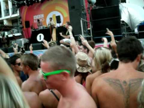 Ibiza 2009 BBC Radio 1 Weekend Steve Angello Live @ Ibiza Rocks Hotel