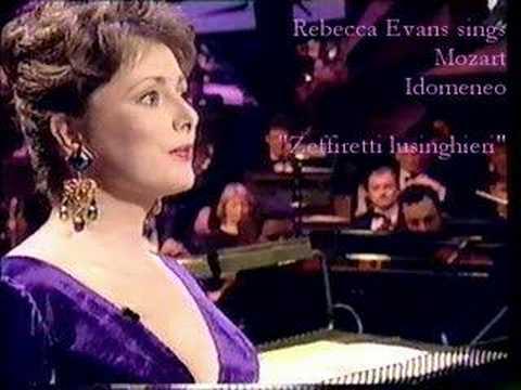 "Rebecca Evans Mozart Idomeneo ""Zeffiretti lusinghieri"""