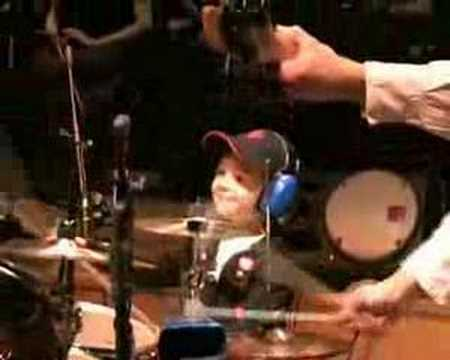 SABIAN-Igor Falecki-5 year ,drummer