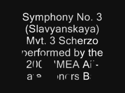Symphony No 3Slavyanskaya Mvt 3 Scherzo