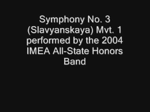 Symphony No 3 Slavyanskaya