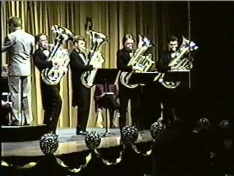 Synchronized Tubas! (#1 of 2)