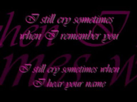 I still cry - Ilse de Lange (lyrics)