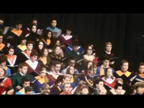 The Battle Hymn of the Republic - IMEA 2011 Honor`s Choir