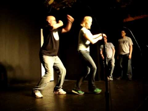 Long form improv. Indians and strip clubs.MPG