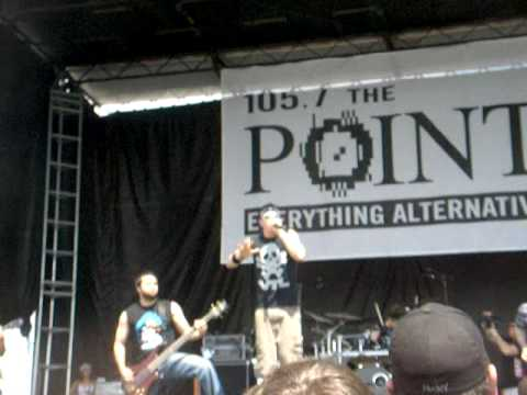 Inimical Drive`s first song at Pointfest 5/23/09