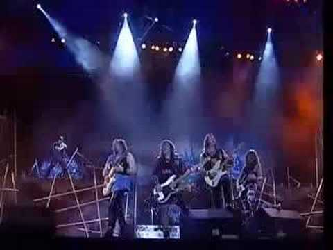 Iron Maiden - Hallowed Be Thy Name (Live @ Rock In Rio)