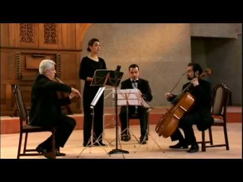 "Isabel Bayrakdarian: ""Chem Krna Khagha"" by Komitas with the Komitas String Quartet"