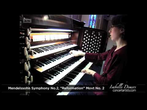 Isabelle Demers performs Mendelssohn transcription on restored 1939 Whitelegg