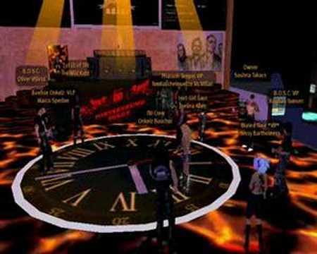 Boehse Onkelz im Second Life - Fahrt zur H�lle