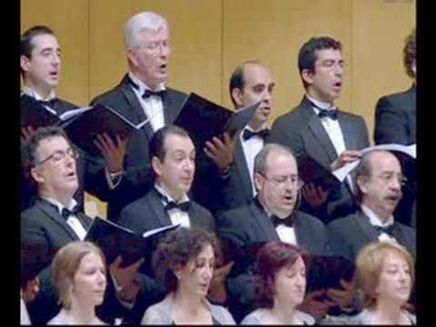 Zubin Mehta Conducts Israel Philharmonic Orchestra and Chorus Amici Musicae of Zaragoza. Symphony 2 Mahler (Resurrection)
