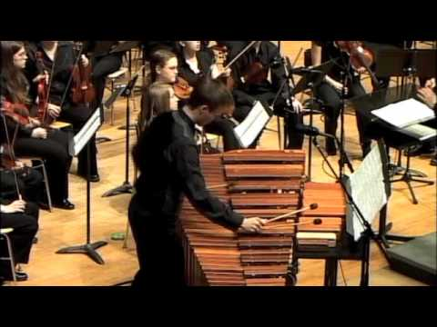 Concerto for Marimba, Woodblocks, and Orchestra; II. Riptides