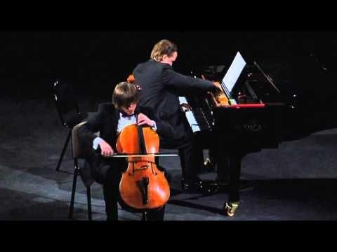 "A. Senderovas ""Two Songs of Sulamith"" - Darius Mazintas (piano), Gleb Pysniak (cello)"