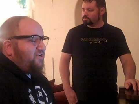 2 dudes w/ beards - J Chris Newberg & Stephen Kramer Glickman