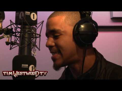 Westwood - J Cole *HOT* freestyle Radio 1