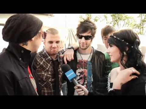 Hanna Beth and All Time Low 2010 MTV VMA`s