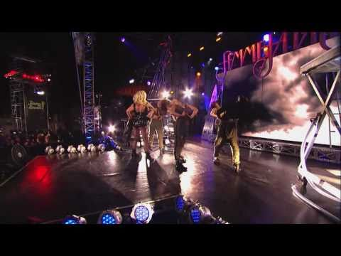 Britney Spears - Till The World Ends (Jimmy Kimmel Live 29.03.11)