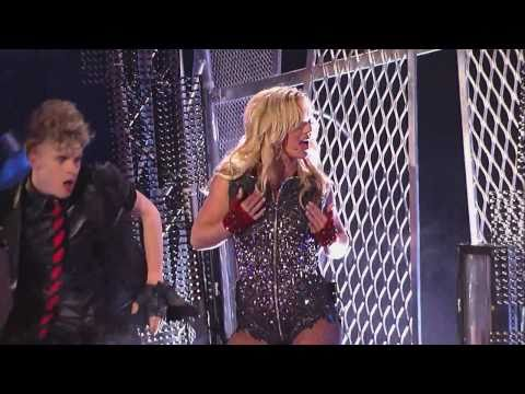 Britney Spears - Hold It Against Me (Jimmy Kimmel Live 29.03.11)