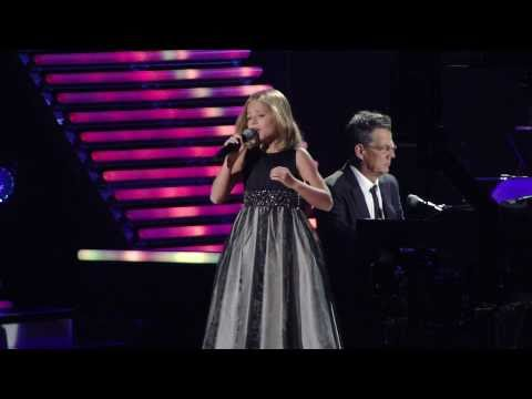 Jackie Evancho At David Foster And Friends, Pie Jesu, O Mio Babbino Caro, Las Vegas Oct 15, 2010